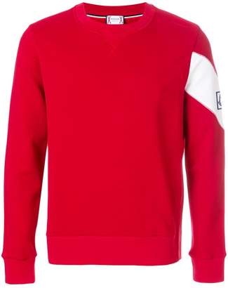 Moncler Gamme Bleu sash sleeve sweatshirt