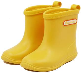 Zilee Kis Rubber Rain Shoes Baby Boys Girls Toler Chil Waterproof Rain Boots