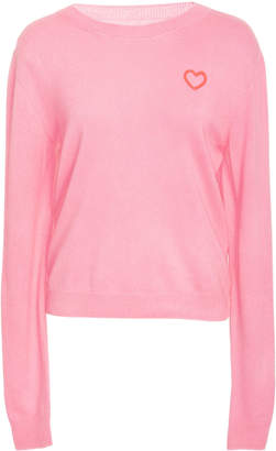 The Elder Statesman M'O Exclusive Billy Cropped Sweater