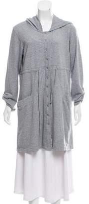 DKNY Hooded Sweater Dress