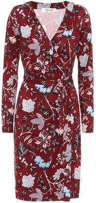 Diane von Furstenberg Julian floral-printed silk dress