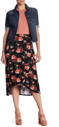Bobeau Ballet Wrap Skirt $52 thestylecure.com