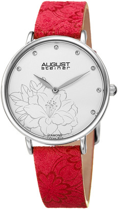 August Steiner Women's Diamond Watch