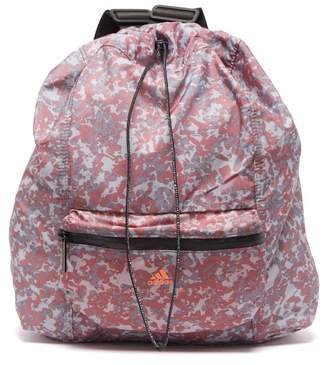 adidas by Stella McCartney Gymsack Camouflage Shell Backpack - Womens - Pink Multi