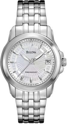 Bulova Watch - Women's Precisionist Stainless Steel - 96M121