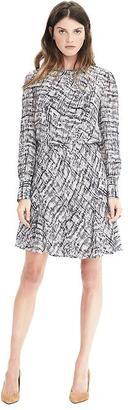 Asymmetrical Pleat Dress $128 thestylecure.com