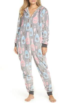 Munki Munki Plush Union Suit One-Piece Pajamas