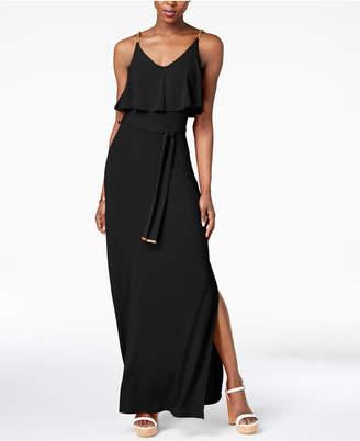 Michael Kors Chain-Embellished Popover Maxi Dress in Regular & Petite Sizes
