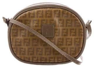 Fendi Vintage Zucca Crossbody Bag