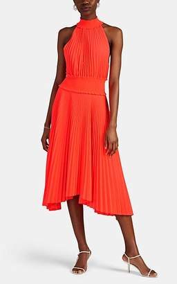 A.L.C. Women's Renzo B Pleated Dress - Orange