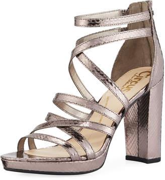 861790c5b7e43 ... Sam Edelman Adele Metallic Strappy Sandals