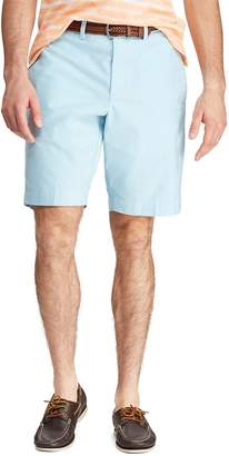Chaps Men's Classic-Fit Stretch Oxford Flat-Front Shorts