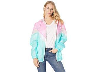 Members Only Translucent Color Block Jacket