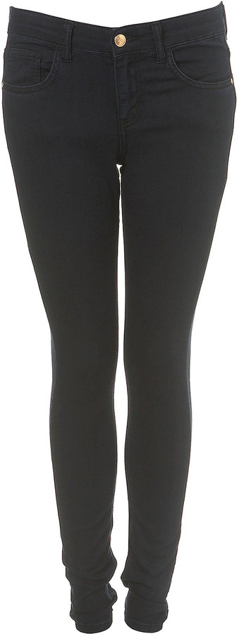 MOTO Navy Leigh Ankle Grazers
