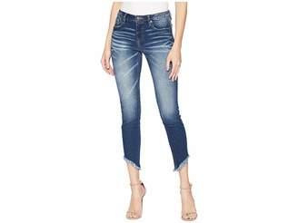 Miss Me Ankle Skinny Jeans in Medium Dark