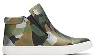 Kenneth Cole New York Women's Kalvin Mid-Top Pull Techni-Cole 37.5 Lining Sneaker