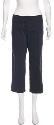 Louis Vuitton Mid-Rise Cropped Pants