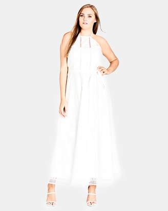 City Chic Divine Weekend Maxi Dress