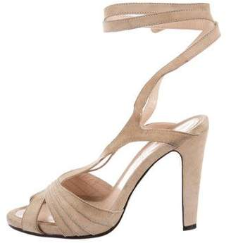 CNC Costume National Ankle Strap Sandals