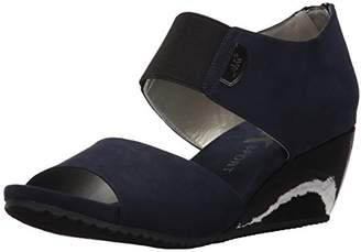 Anne Klein AK Sport Women's Carisma Fabric Wedge Sandal