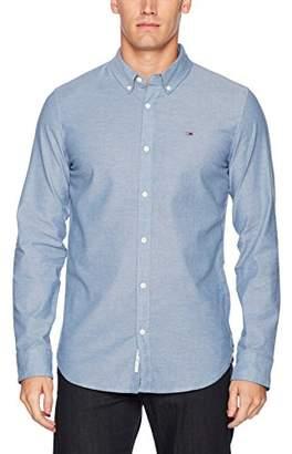 Tommy Hilfiger Men'sLong Sleeve Chambray Shirt