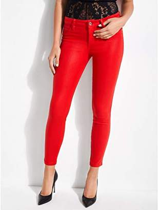 GUESS Women's Coated Sexy Curve Jean