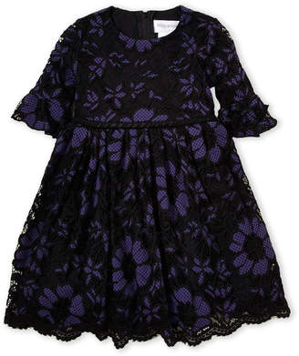 Little Angels (Toddler Girls) Floral Lace Fit & Flare Dress