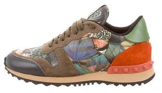 Valentino Camo Butterfly Rockrunner Sneakers