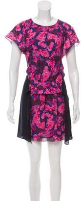 Thakoon Silk Floral Print Dress