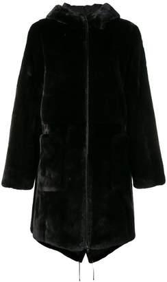 Pallas Liska hooded parka coat