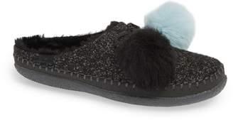 Toms Ivy Pompom Faux Fur Lined Slipper