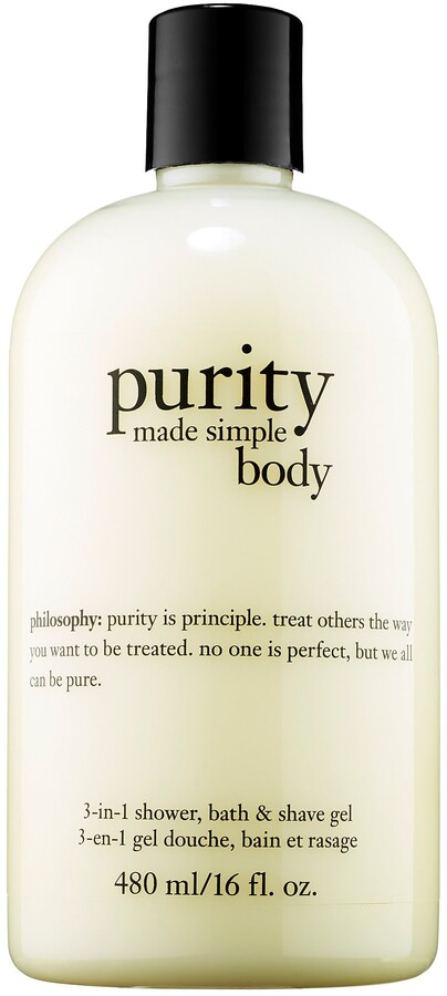 Philosophy philosophy - Purity Made Simple 3-in-1 Shower, Bath & Shave Gel