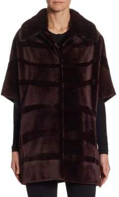 The Fur Salon Sheared Mink Jacket