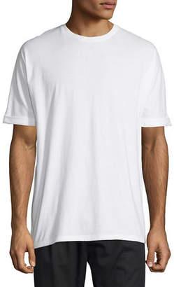 Helmut Lang Cuffed-Sleeve Oversized Short-Sleeve T-Shirt