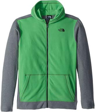 The North Face Kids Glacier Full Zip Hoodie Boy's Sweatshirt