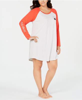 Jenni Plus Size Graphic-Print Sleepshirt