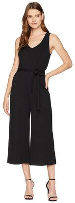 Three Dots Ponte Sleeveless Jumpsuit Women's Jumpsuit & Rompers One Piece