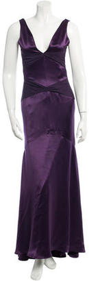 Vera Wang Paneled Gown $200 thestylecure.com