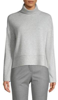 Inhabit Turtleneck Wool & Cashmere Sweater