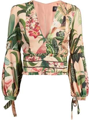 Patbo Paradise Printed Blouse