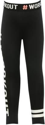 M&Co Minoti workout slogan leggings