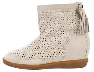 Isabel Marant Beslay Wedge Ankle Boots