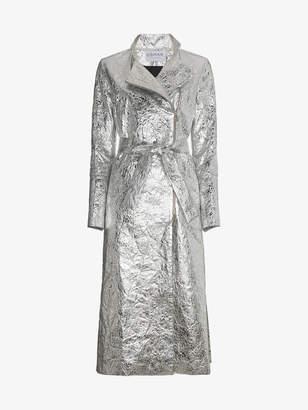 Osman Metallic Joplin trench coat