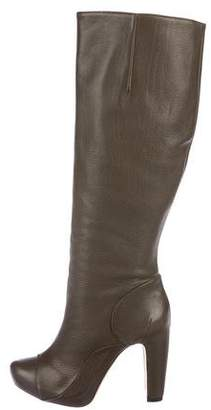 Roland Mouret Leather Knee-High Boots