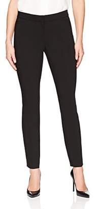 Lark & Ro Women's Slim Leg Dress Pant: Modern Fit