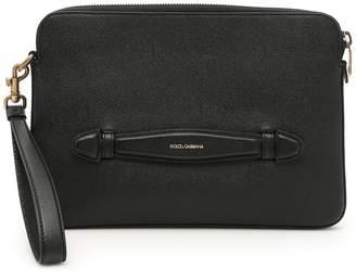 Dolce & Gabbana Dauphine Calfskin Document Case
