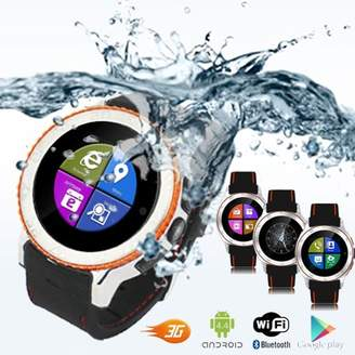 Indigi Waterproof Unlocked 2-in-1 S7 SmartWatch & Phone - Bluetooth Sync Compatible - WiFi - Android 4.4 - Wrist Camera