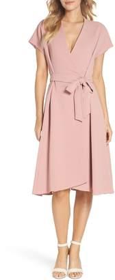 Gal Meets Glam Audrey Wrap Dress