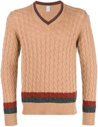Eleventy v-neck cashmere sweater