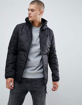 G Star G-Star Edla Quilted Hooded Jacket